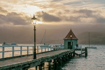 French Bay, Akaroa, Canterbury New Zealand