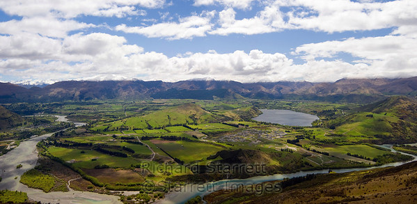Panoramic view near Queenstown