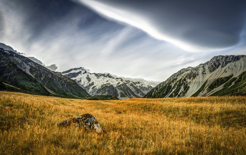 treasure of the valley | mount cook national park, new zealand