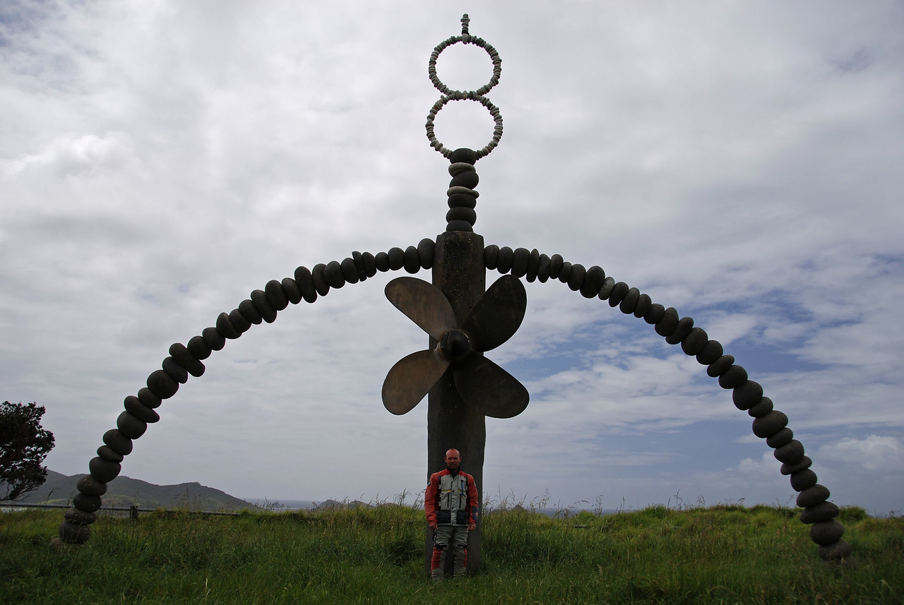 Rainbow Warrior Memorial - Matauri Bay