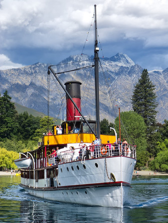 TSS Earnslaw, Lake Wakatipu, Queenstown.