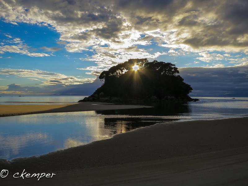 Incoming Tide<br /> Abel Tasman, South Island