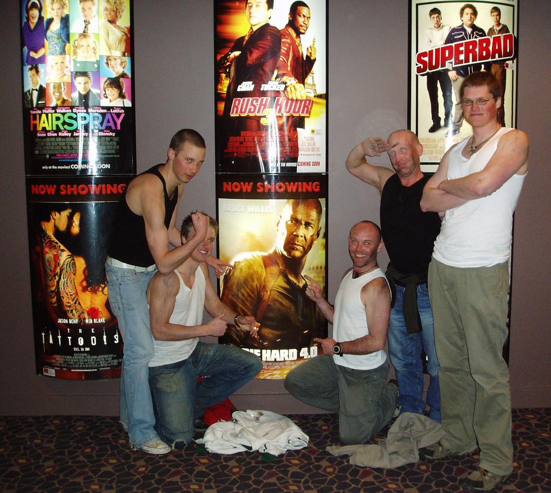 Die Hard 4.0   Rob, Ian, Adam, Danny, Jack