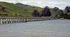 Footbridge saves school children a long walk around the estuary