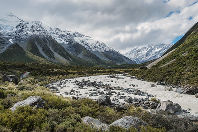 Hooker Valley trail.  Aoraki/Mt. Cook Nat'l Park