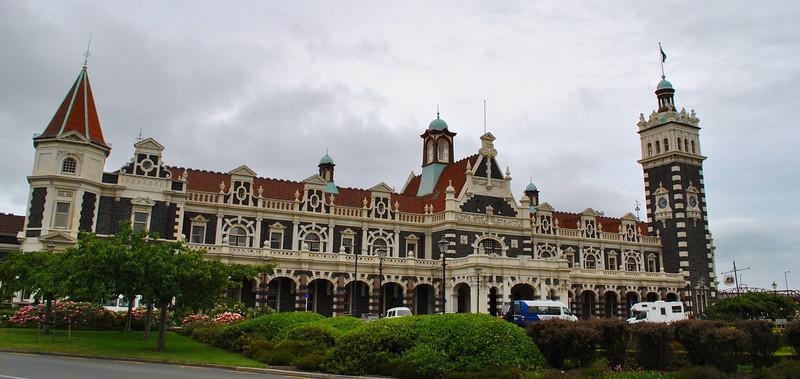 Dunedin's beautiful railway station