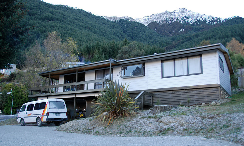 Our house. 1 O'Leary's Paddock, Sunshine Bay, Queenstown