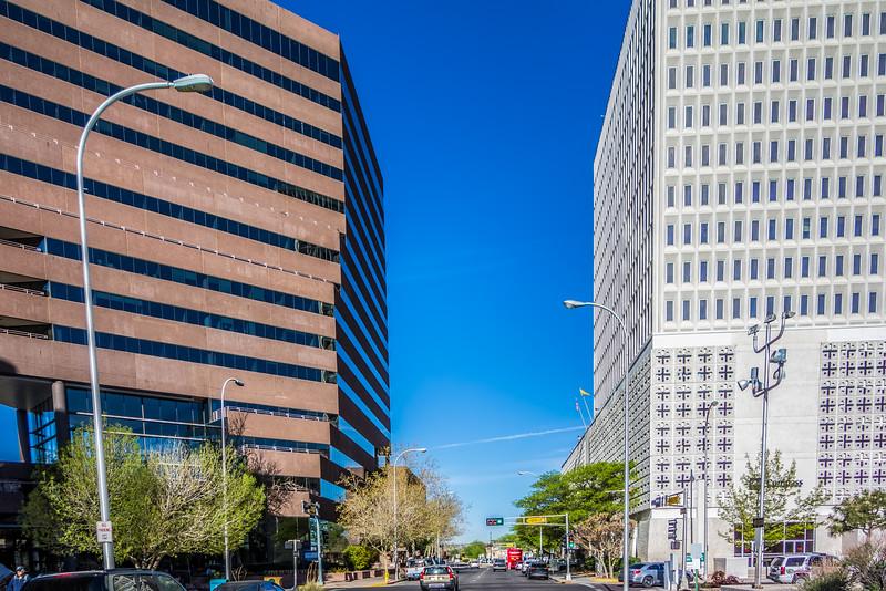 city center of downtown Albuquerque new mexico
