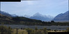 Glacial valley on way to Mt Cook