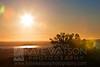 Sunset from Mount Eden