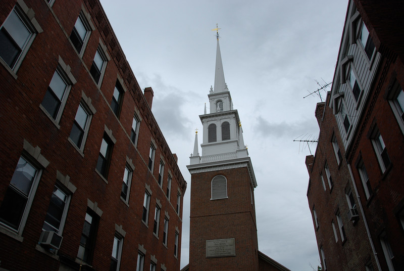 Old North Church.<br /> I love all the red brick buildings in the North End, it's a really unique community.