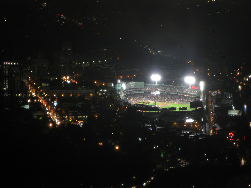 Fenway Park, viewed from the Prudential Skywalk