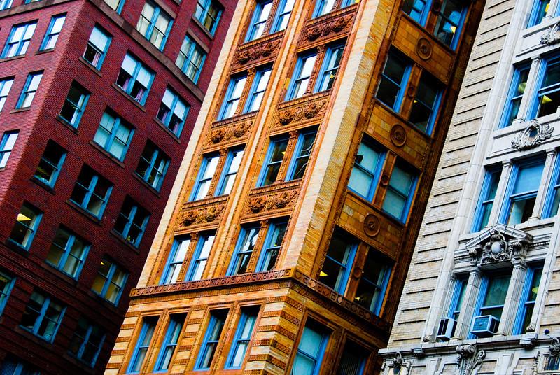 Some buildings in Boston