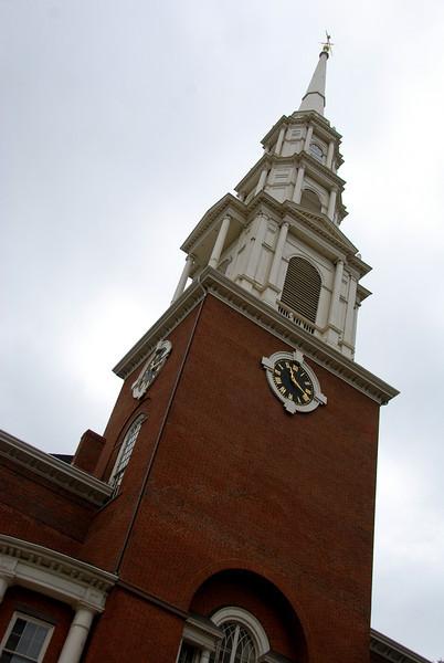 Steeple of the Park Street Church