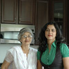 Mandar's mom and Manasi - who served us exotic indian food from this kitchen :)