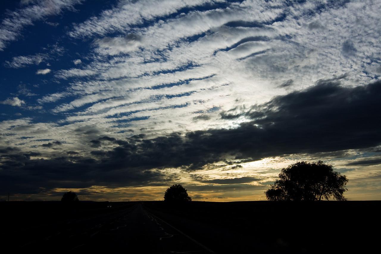 sunsets were plentiful