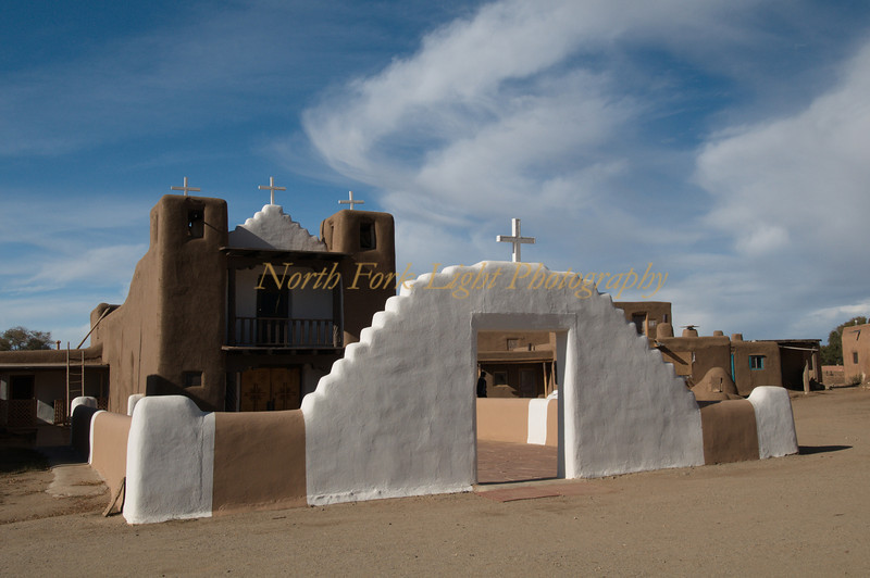 St. Jerome Church at Taos Pueblo.