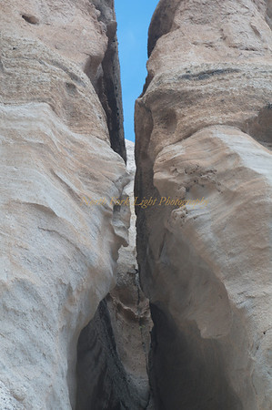 Slot canyon.