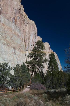 El Morro trail.