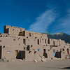 There are only 150 full time residents at Taos Pueblo, but more than 1900 hundred Taos Indians living in Taos Pueblo lands.