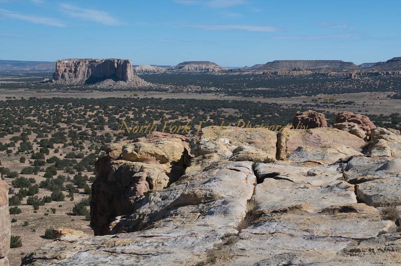 Enchanted Mesa part of the Pueblo lands.