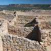 800-year-old pueblo ruins at 7,300+ feet on top of el Morro mesa in the Zuni Plains.