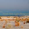 Moonrise. White Sands National Monument, Windblown gypsum drifts shape the landscape.