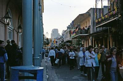 French Quarter Mardi Gras, 1987