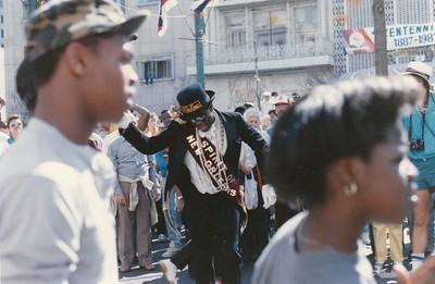 Mardi Gras, 1987, Canal Street