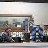 WARB Radio studio, Feb. 20, 1987