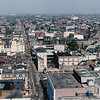 French Quarter<br /> Mardi Gras, 1987<br /> <br /> (This view is from the roof of the Maison Blanche building)