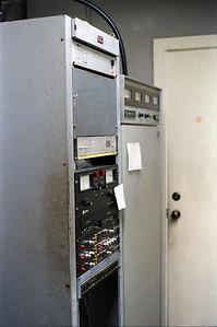 WARB Radio transmitter, February 1987