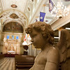 "<span id=""title"">Angel</span> <em>French Quarter</em> Inside St. Louis Cathedral."