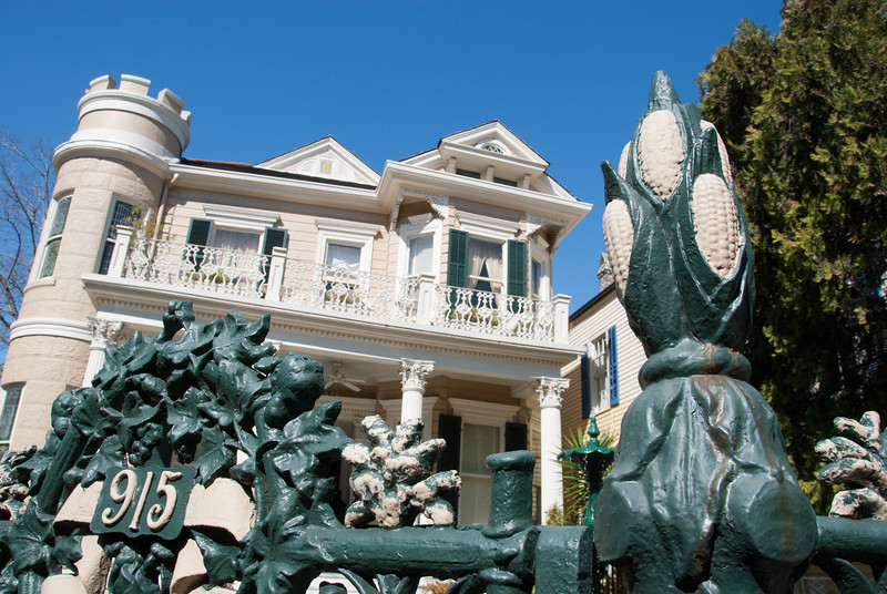 "<span id=""title"">Cornstalk Hotel</span> <em>French Quarter</em> Apparently this hotel is named for its fence."