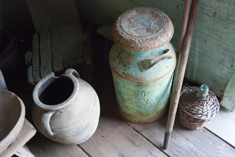 "<span id=""title"">Old Stuff</span> <em>Laura Plantation</em> This pot, can and bottle were on display in one of the slave cabins."