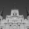 "<span id=""title"">St. Louis Cathedral</span> <em>French Quarter</em> The highly-symmetrical facade is a result of a 1850 expansion and remodel."