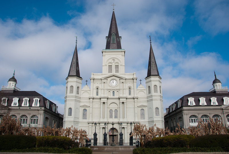 """<span id=""""title"""">St. Louis Cathedral</span> <em>French Quarter</em> Impressive cathedral in the French Quarter - the oldest continuously operated cathedral in the country. Of course, it wasn't part of our country back when it started..."""