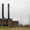 "<span id=""title"">Abandoned Power Plant</span> <em>New Orleans</em> South of the convention center lies this imposing power plant, in ruins and fenced off."