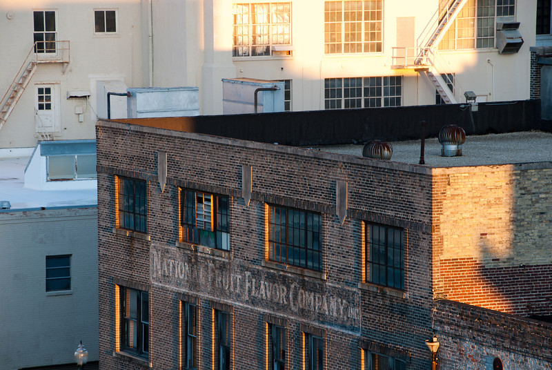"""<span id=""""title"""">National Fruit Flavor Company</span> <em>New Orleans</em> There were a ton of cool painted signs on buildings all over New Orleans."""