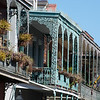"<span id=""title"">Wrought Iron</span> <em>French Quarter</em> Impressive examples of the iron work associated with the French Quarter architecture."