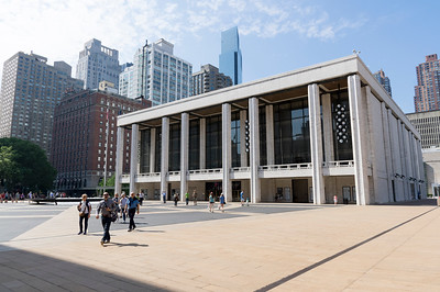 Lincoln centre for performing arts