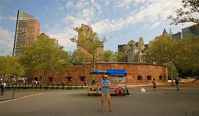 Castle Clinton @ Battery Park. Lower Manhattan, New York, USA.