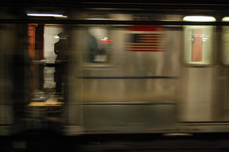 Subway station (blur)
