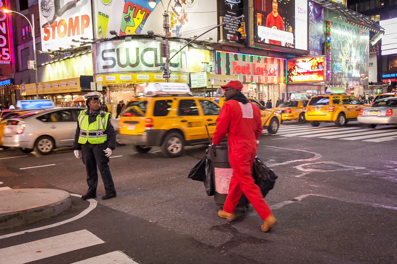 Times Square, Manhattan, New York, USA, 2009