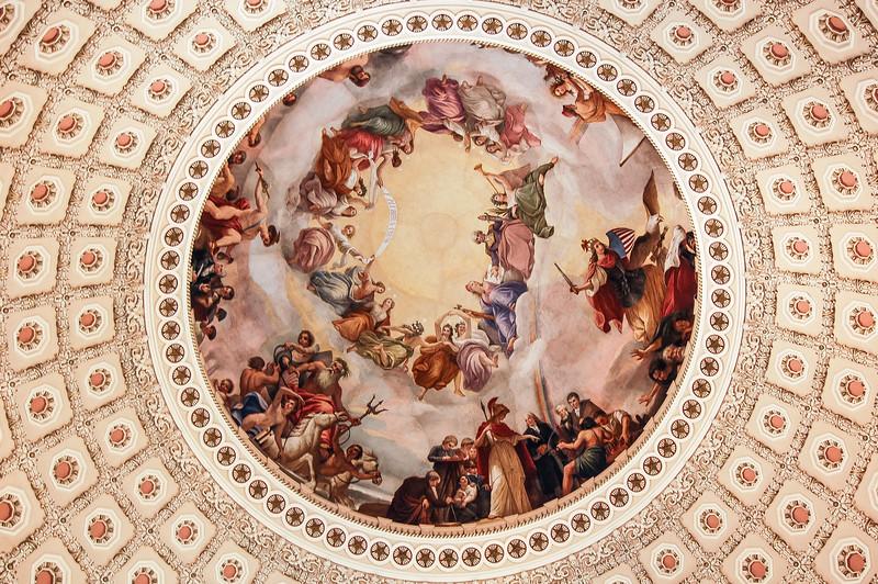 Senate building detail, The Capitol