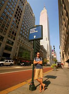 Empire State Building. Midtown, Manhattan, New York, USA.