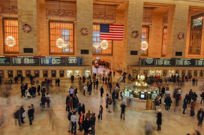 Crowds at Grand Central Station
