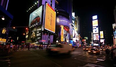 A night @ Broadway. Manhattan, New York, USA.