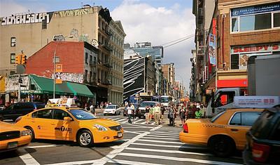 West Broadway @ SOHO District. Manhattan, New York, USA.