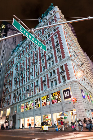 GAP store on Broadway, Manhattan, New York, USA, 2009